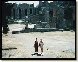 viaggio a pompeii