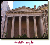 Assisi's Temple of Minerva